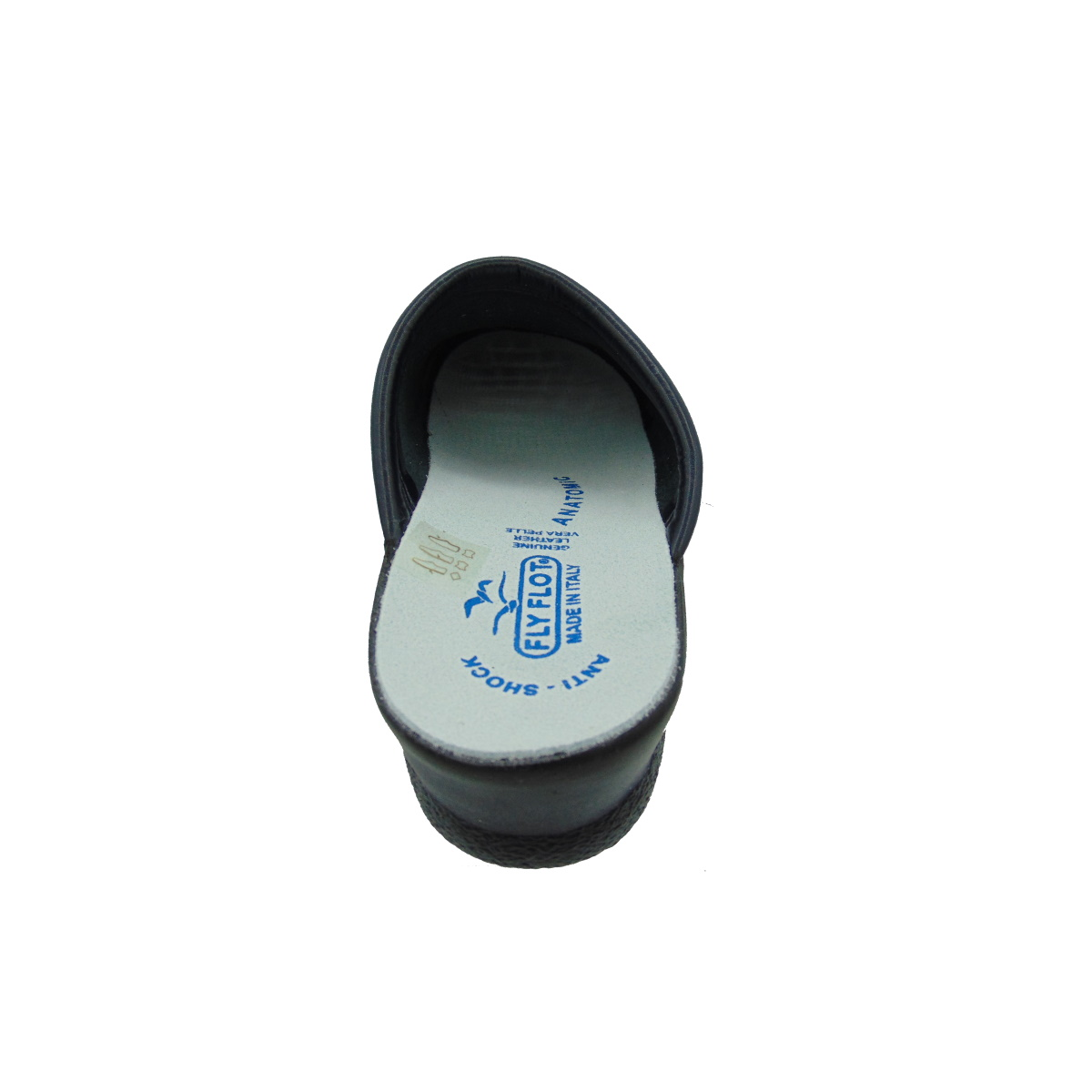 Fly flot 85094 blu ciabatte sanitarie tomania sottopiede in pelle